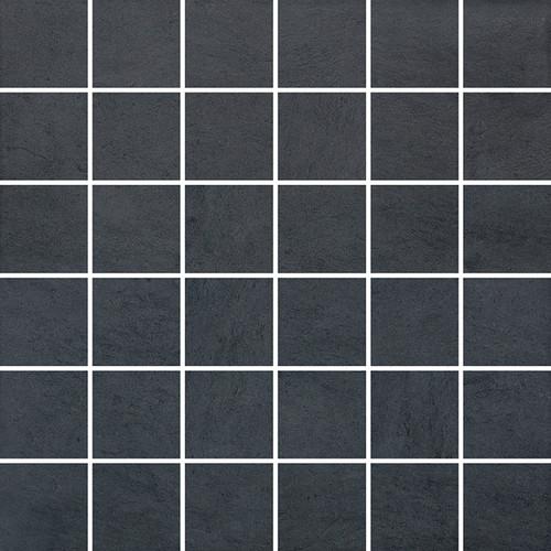 Cinq Black Mosaics 2x2