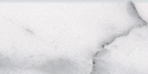 Classic Carrara Glossy Bullnose 3x6