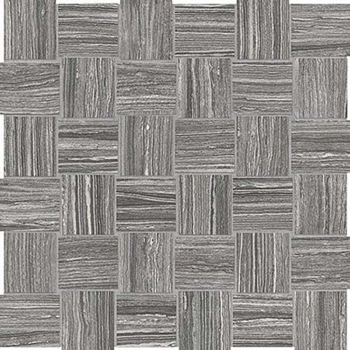 Eramosa Carbon Basketweave HD Mosaics 2x2