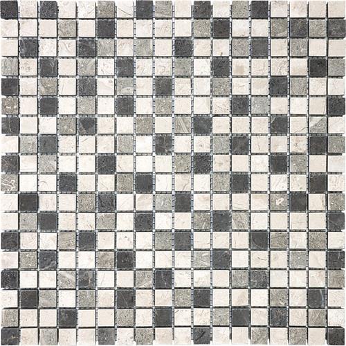"""Chai Blend Mosaics 5/8"""" x 5/8"""""""