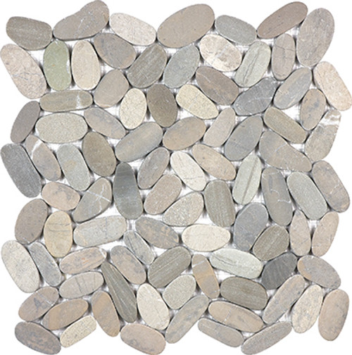 Vitality Mica Flat Pebble Mosaics 12x12