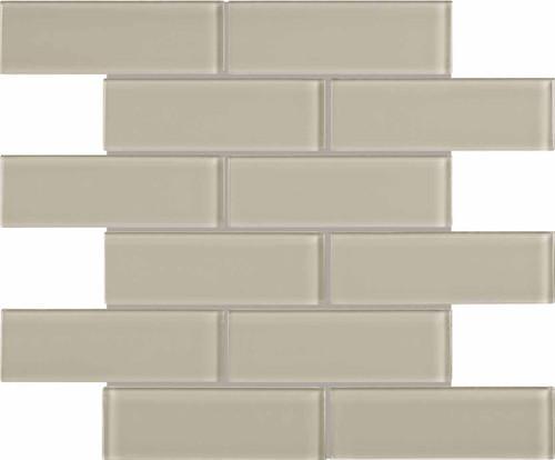 Element Earth Glass Brick Mosaics 2x6 (35-091)