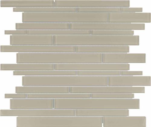 Element Earth Random Strip Glass Mosaics (35-095)