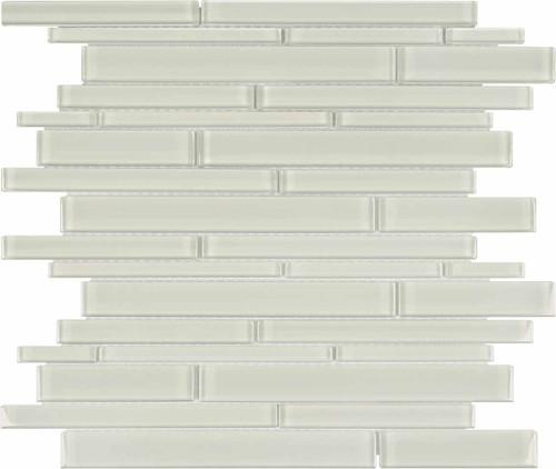 Element Sand Random Strip Glass Mosaics (35-062)