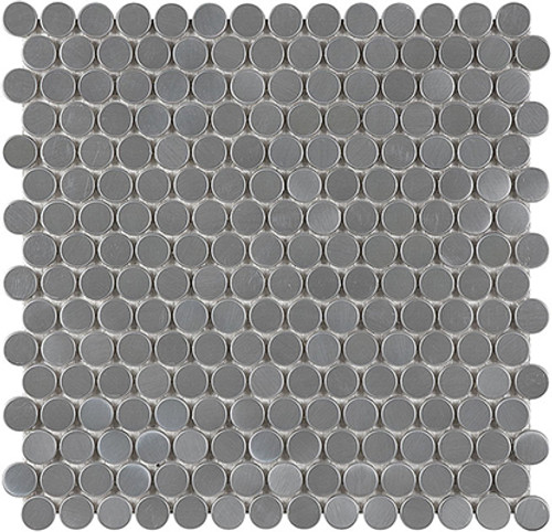 Stainless Steel Penny Round Mosaics