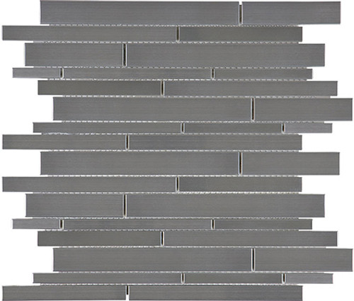 Stainless Steel Random Strip Mosaics