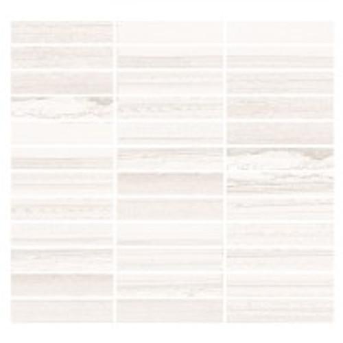 Lakestone Avorio 1x4 Mosaic on 12x12 Sheet