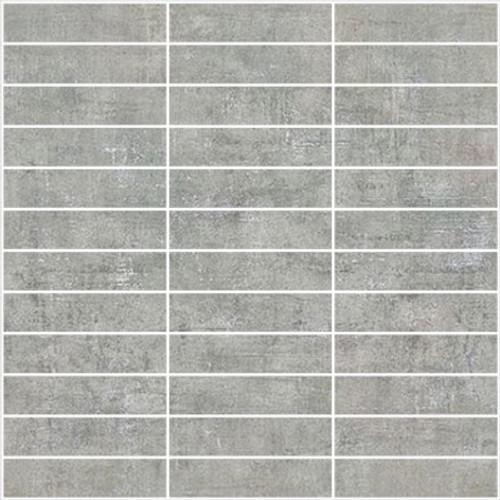 Loft 2.0 Grigio 1x4 Mosaic on 12x12 Sheet