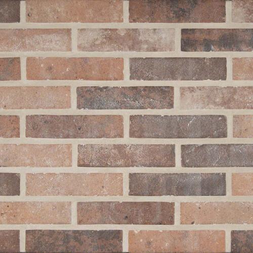 Capella Collection - Red Brick Matte Porcelain 2x10