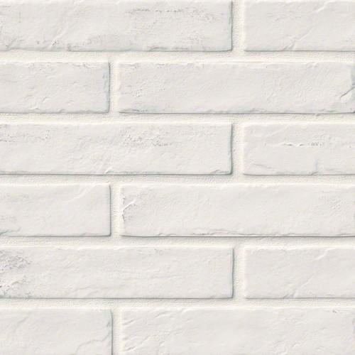 Capella Collection - White Brick Matte Porcelain 2x10