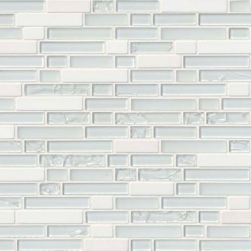 Delano Blanco Mixed Random Mosaic 12x12 Sheet