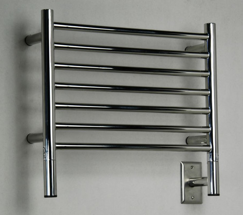 """Jeeves Collection - Model H Straight - Polished - Heated Towel Rack 20.5"""" x 18"""""""