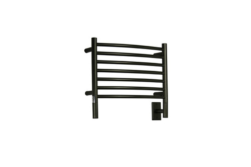 """Jeeves Collection - Model H Curved - Oil Rubbed Bronze - Heated Towel Rack 20.5"""" x 18"""""""