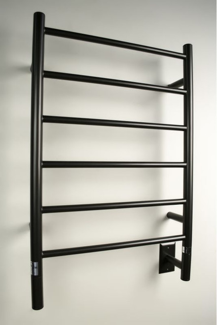 """Jeeves Collection - Model J Straight - Oil Rubbed Bronze - Heated Towel Rack 20.5"""" x 31"""""""