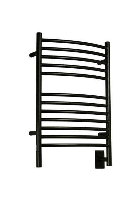 """Jeeves Collection - Model E Curved - Oil Rubbed Bronze - Heated Towel Rack 20.5"""" x 31"""""""