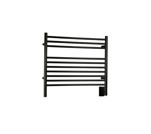 """Jeeves Collection - Model K Straight - Oil Rubbed Bronze - Heated Towel Rack 29.5"""" x 27"""""""