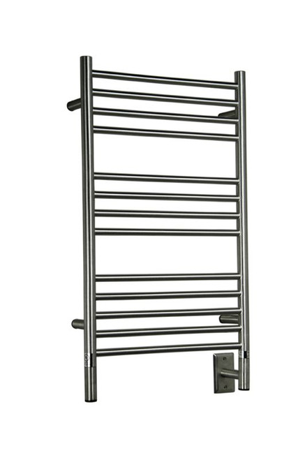 """Jeeves Collection - Model C Straight - Brushed - Heated Towel Rack 20.5"""" x 36"""""""