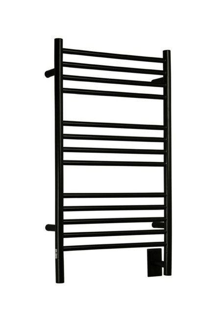 """Jeeves Collection - Model C Straight - Oil Rubbed Bronze - Heated Towel Rack 20.5"""" x 36"""""""