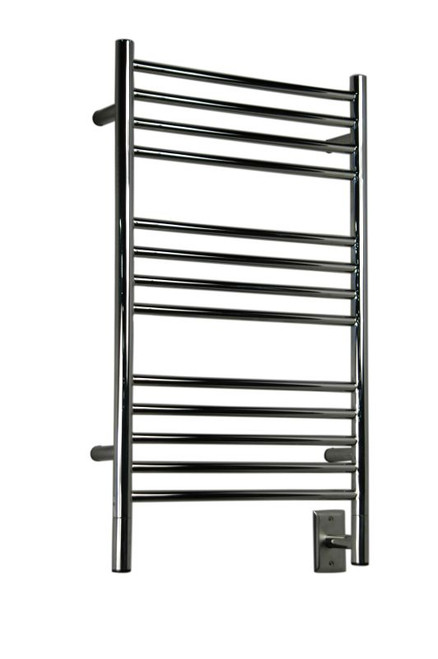 """Jeeves Collection - Model C Straight - Polished - Heated Towel Rack 20.5"""" x 36"""""""