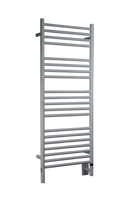 """Jeeves Collection - Model D Straight - White - Heated Towel Rack 20.5"""" x 53"""""""