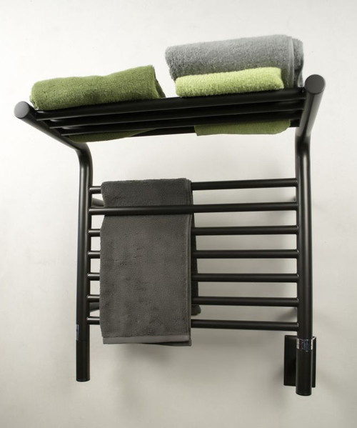 """Jeeves Collection - Model M Shelf - Oil Rubbed Bronze - Heated Towel Rack 20.5"""" x 22"""""""