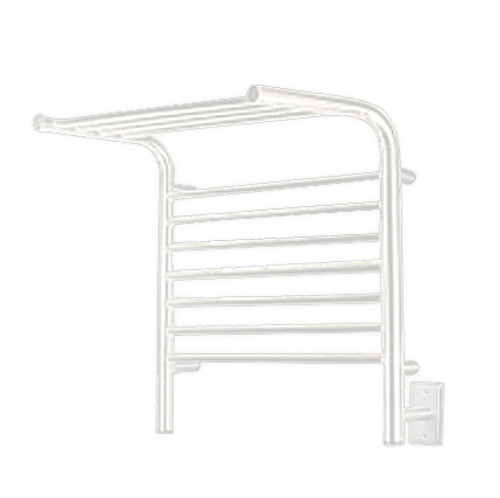 """Jeeves Collection - Model M Shelf - White - Heated Towel Rack 20.5"""" x 22"""""""