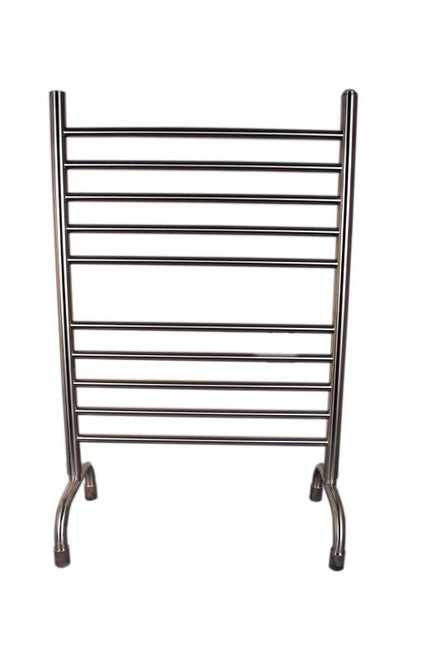 """Solo Collection - Brushed - Freestanding Heated Towel Warmer 24"""" x 38"""""""