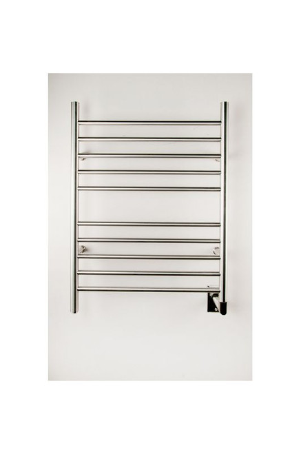 """Radiant Collection - Straight Hardwired Brushed - Heated Towel Rack 24"""" x 32"""""""