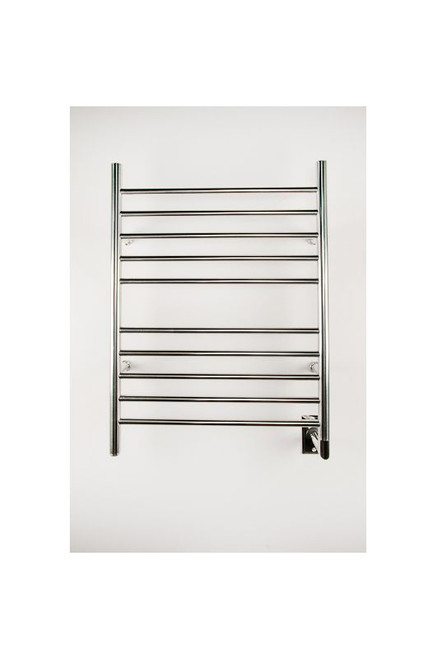 """Radiant Collection - Straight Hardwired Polished - Heated Towel Rack 24"""" x 32"""""""