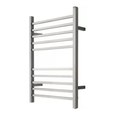 """Radiant Collection - Plug-In Square Brushed - Heated Towel Rack 24"""" x 32"""""""
