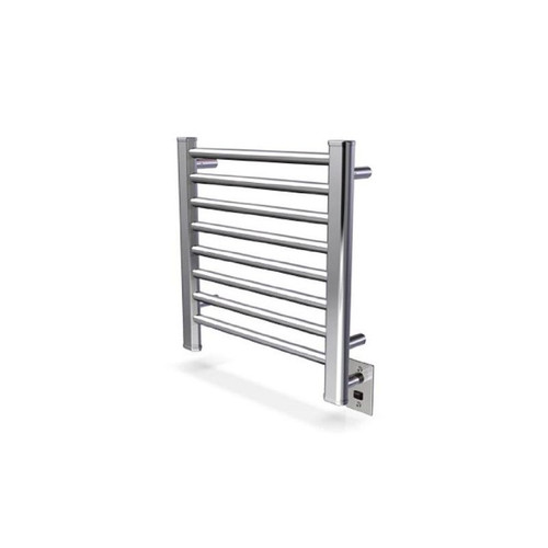 """Sirio Collection - Model S-2121 - Brushed - Heated Towel Rack 21"""" x 21"""""""