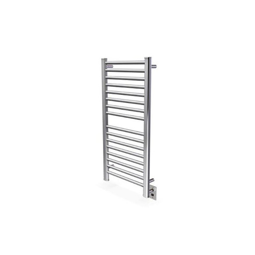 """Sirio Collection - Model S-2142 - Brushed - Heated Towel Rack 21"""" x 42"""""""
