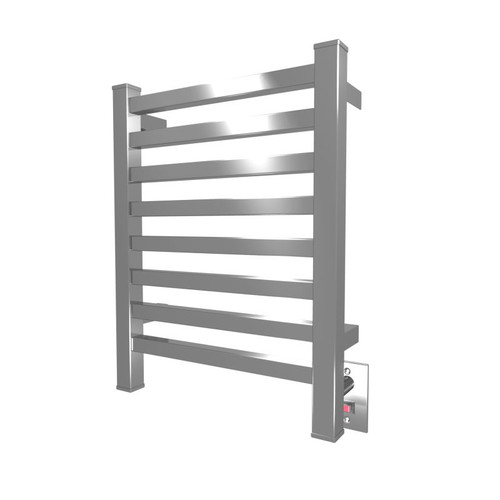 """Quadro Collection - Model Q 2016 - Polished - Heated Towel Rack 20"""" x 16"""""""