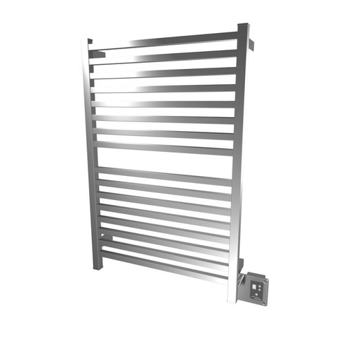 """Quadro Collection - Model Q 2842 - Polished - Heated Towel Rack 28"""" x 42"""""""