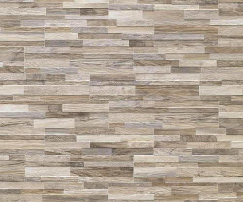 The Wall Art Collection - Taupe Decorative 3D HD Porcelain 6x24