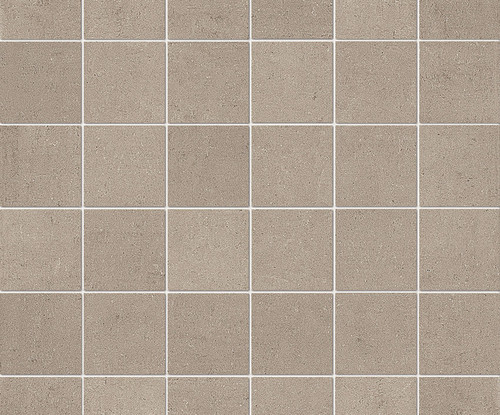 """Re_Micron Collection - Beige Natural Mosaic 2"""" x 2"""" On 12"""" x 12"""" Sheet"""