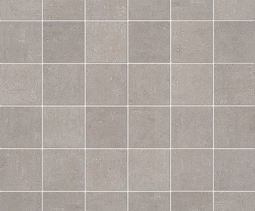 """Re_Micron Collection - Greige Natural Mosaic 2"""" x 2"""" On 12"""" x 12"""" Sheet"""