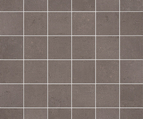 """Re_Micron Collection - Taupe Natural Mosaic 2"""" x 2"""" On 12"""" x 12"""" Sheet"""