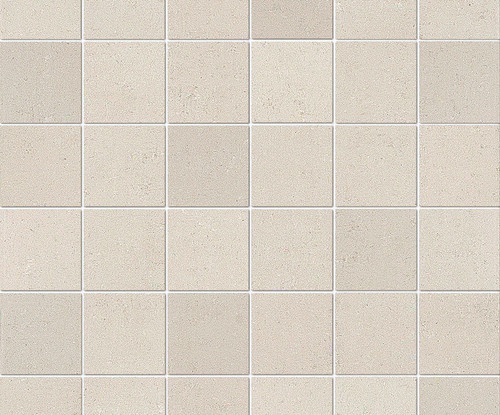"""Re_Micron Collection - White Natural Mosaic 2"""" x 2"""" On 12"""" x 12"""" Sheet"""