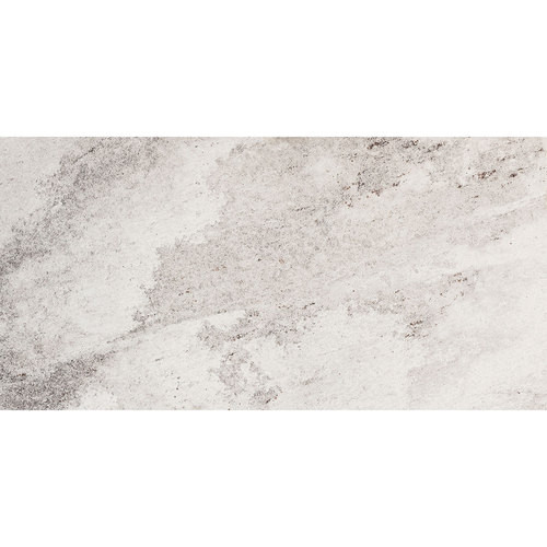 Consulate Collection - Embassy Silver Quartzite Unpolished Porcelain 12x24