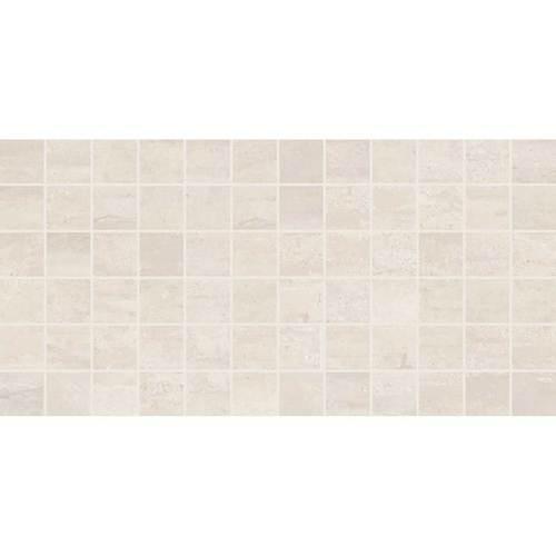"Cove Creek - Gray Ceramic Mosaic 2"" x 2"" On 12"" x 24"" Sheet"