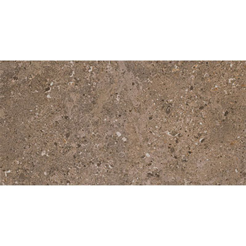 Dignitary Collection - Herald Brown Textured Porcelain 12x24