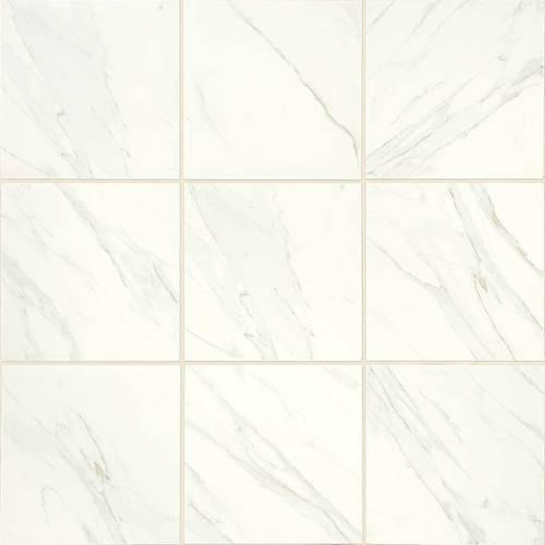 Florentine Collection - Carrara Matte Porcelain 24x24
