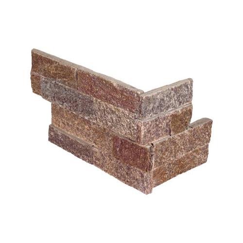 "Ledger Panel Amber Falls Splitface ""L"" Corner 6x18x6 (LPNLQAMBFAL618COR)"