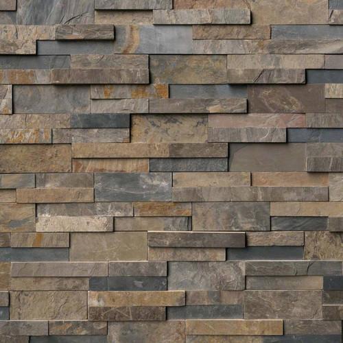 Ledger Panel Rustic Gold Splitface Panel 6x24 (LPNLSRUSGLD624)