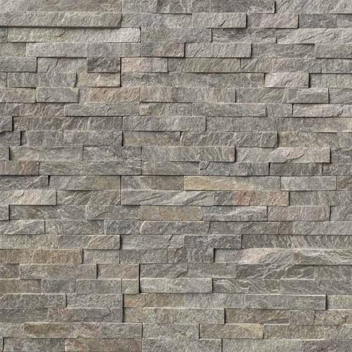 Ledger Panel Sage Green Splitface Panel 6x24 (LPNLQSAGGRN624)