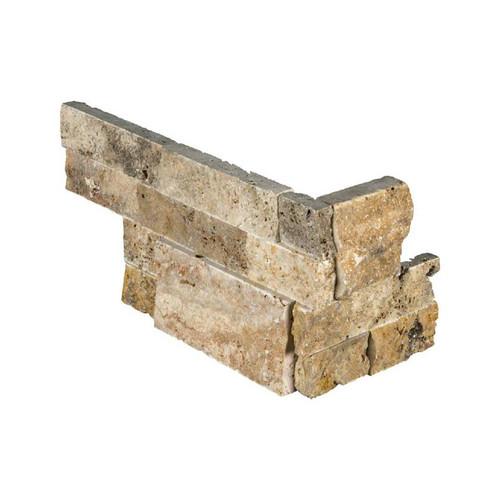 "Ledger Panel Tuscany Scabas Splitface ""L"" Corner 6x12x6 (LPNLTSCA618COR)"