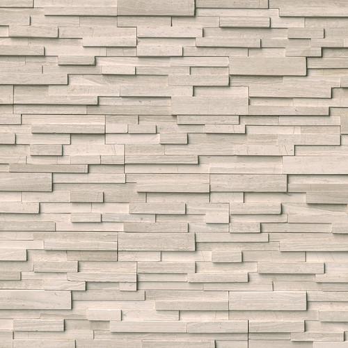 Ledger Panel White Oak 3D Honed Panel 6x24 (LPNLMWHIOAK624-3DH)