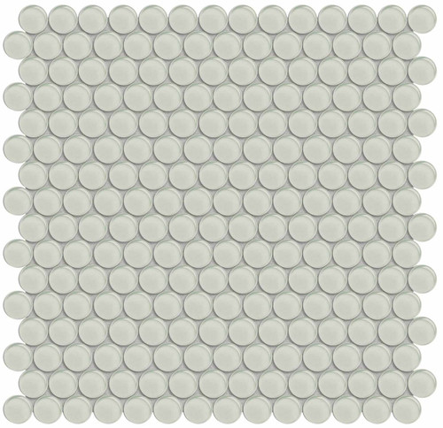Element Sand Penny Round Glass Mosaics (35-102)