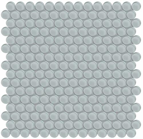 Element Cloud Penny Round Glass Mosaics (35-103)